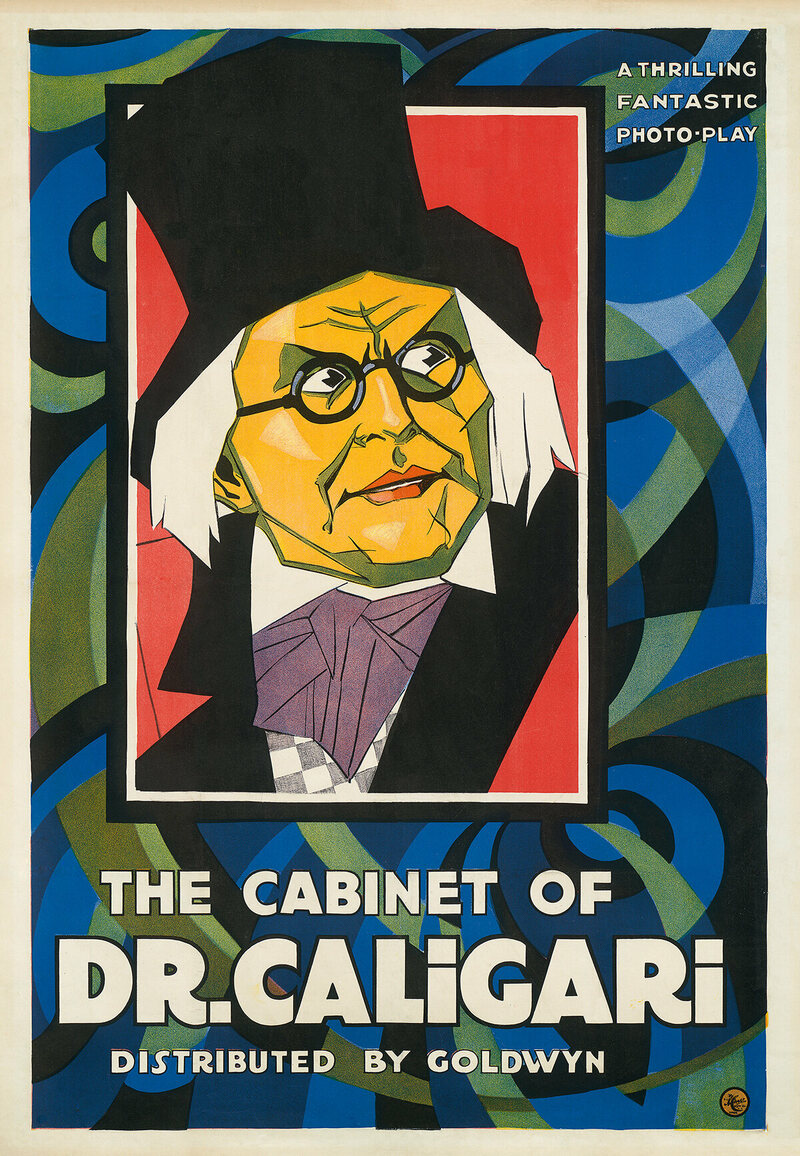 <em>The Cabinet of Dr. Caligari</em>, Lionel Reiss, 1921.