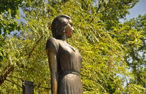 The Tatyana Markus memorial.