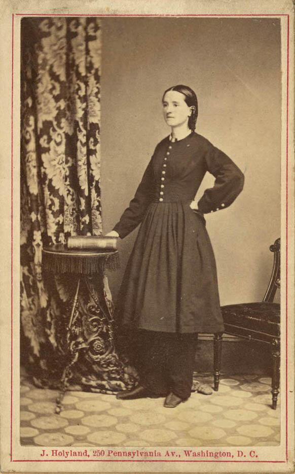 Mary Walker, 1860.