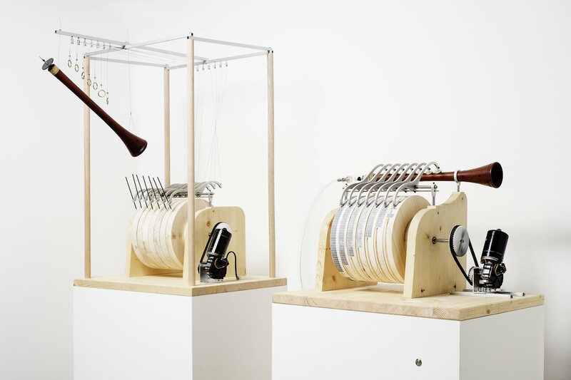 Reconstruction of the Banū Mūsā brothers' musical automaton, created for the <em>Allah's Automata</em> exhibition at the ZKM   Center for Art and Media in Karlsruhe, Germany.