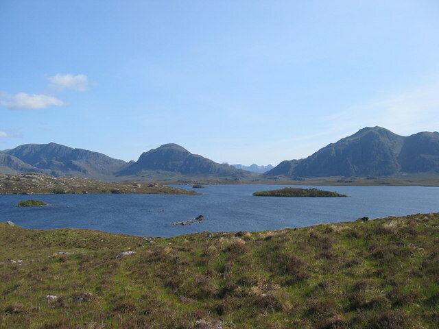 Fionn Loch seems like a pretty nice place to be alone.