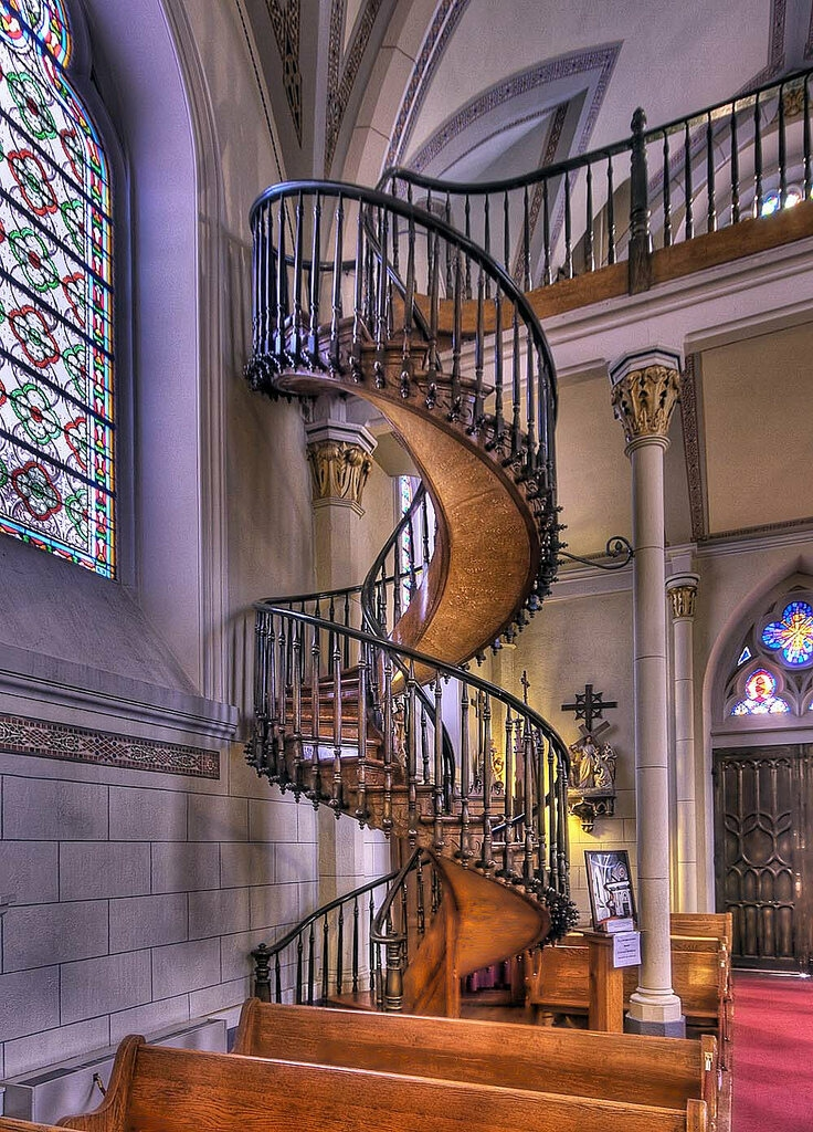 Spiraling Out Of Control The Greatest Spiral Stairs In The World | Building A Spiral Staircase | Wood | Playground | Design | Rectangular | Attic