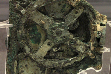 The Antikythera mechanism.