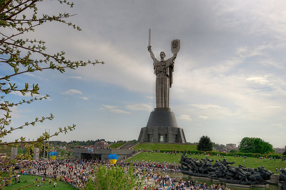Image result for Mother Motherland in Kiev, Ukraine