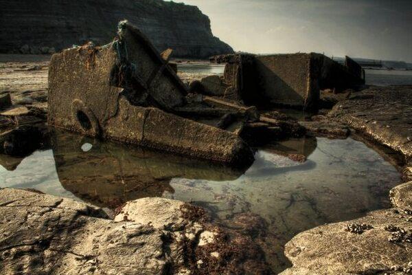 Wreck of the MV Creteblock – North Yorkshire, England ...