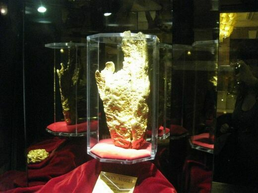 Hand Of Faith Gold Nugget Las Vegas Nevada Atlas Obscura