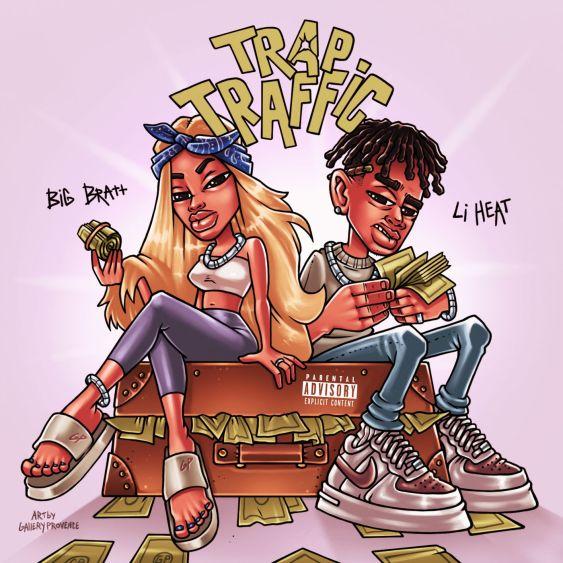 Big Bratt & Li Heat Trap Traffic Mp3 download