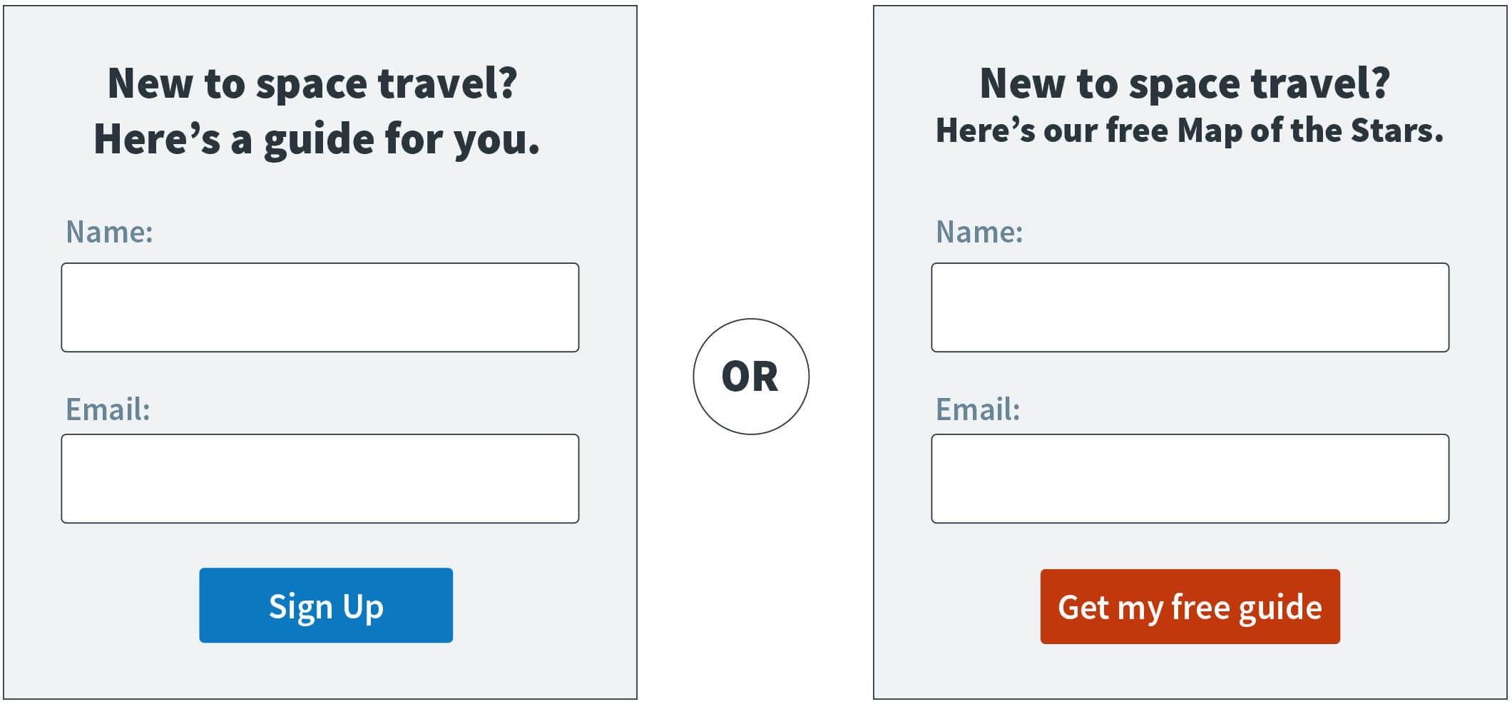 Email Sign Up Form Templates