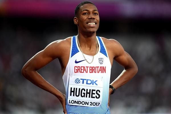 High and low – Zharnel Hughes   SERIES   World Athletics