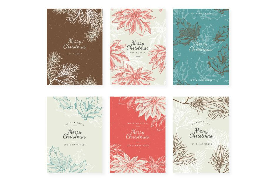 Enjoy This Beautiful Vintage Christmas Backgrounds And