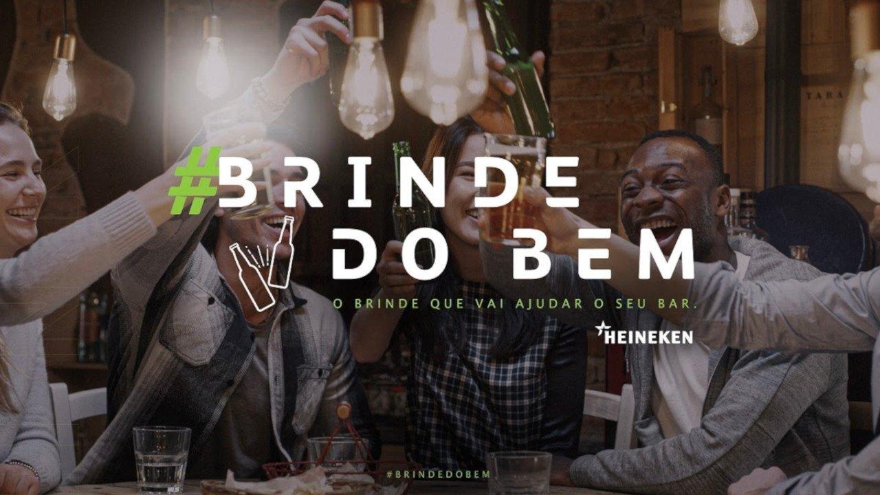 Grupo Heineken promove iniciativa para ajudar bares brasileiros durante crise da COVID-19