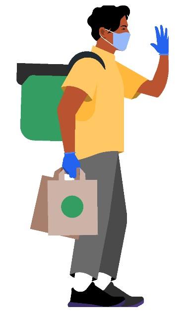 UberEats desenvolve nova mochila para entregadores em conjunto IED  . Fonte: B9
