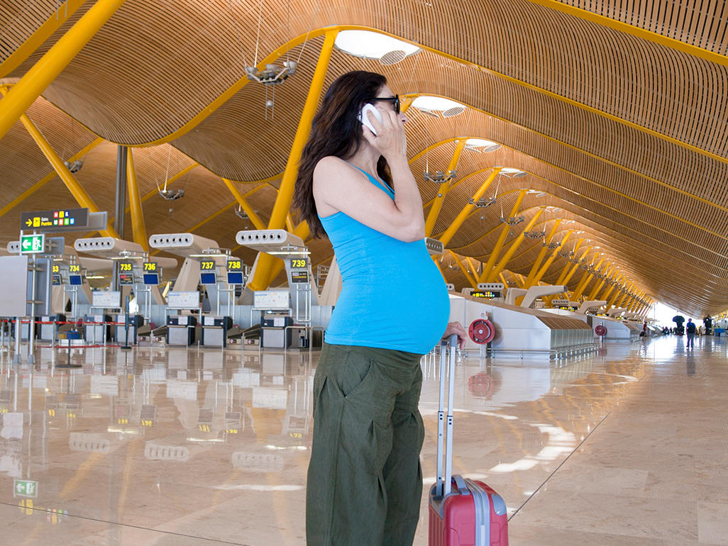Traveling By Plane When Pregnant