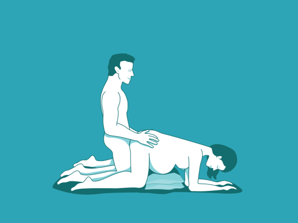 Pregnancy sex position - doggy style
