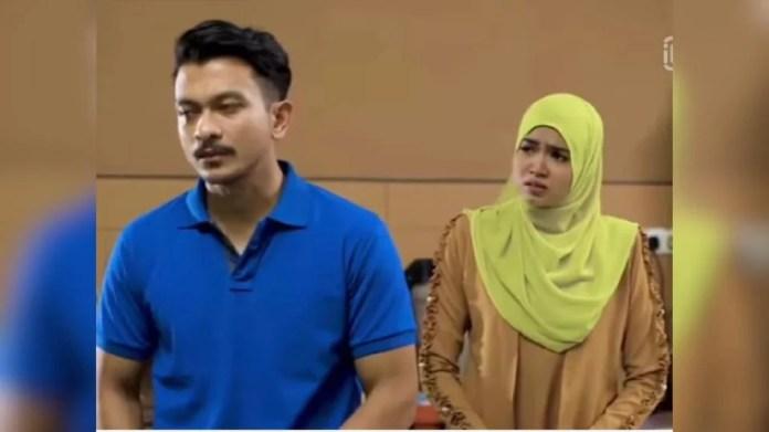 Watak Nurul Ain lakonan Wafariena cuba memporak-perandakan rumah tangga Khuzairi dibintangi Shukri Yahaya dalam drama 7 Hari Mencintaiku 2. - Foto IG Wafariena