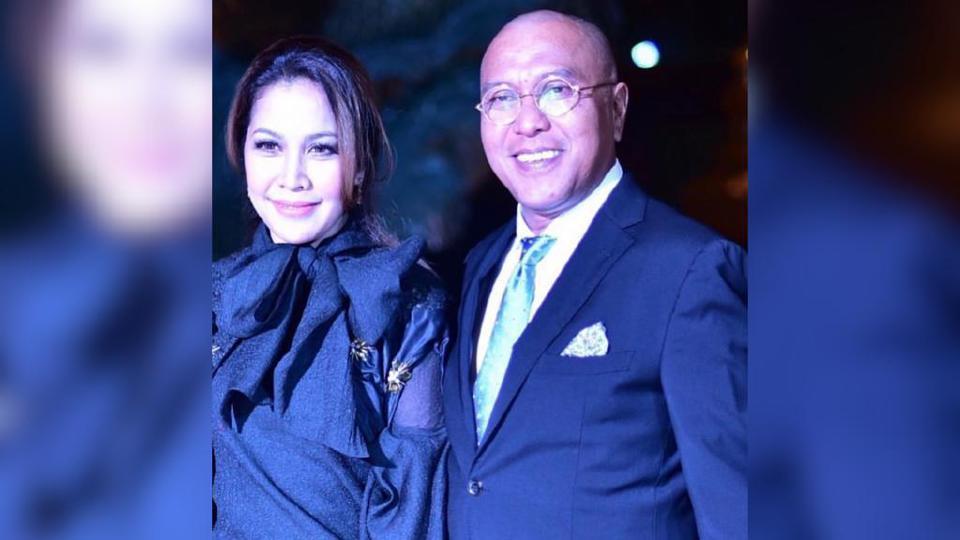 Datuk Hattan bersama isterinya, Datin Arianie Mohd Abidin. - Foto IG Datuk Hattan