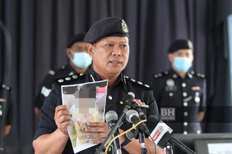 Arifai bercakap pada sidang media kes penderaan kanak-kanak di Balai Polis Rawang. - NSTP/Mahzir Mat Isa