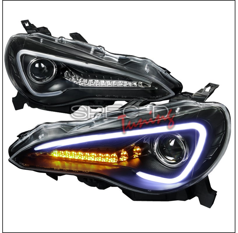 spec d projector headlight frs