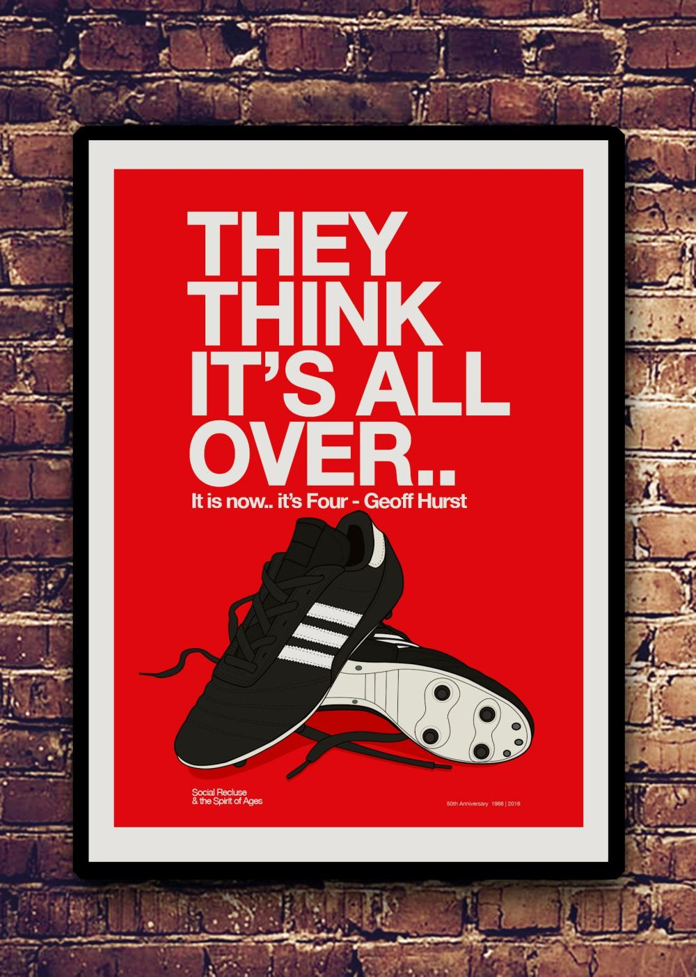 FUTBOL PRINTS — THEY THINK IT'S ALL OVER