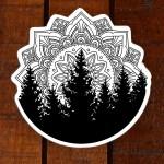 Mandala Tree Tattoo Novocom Top