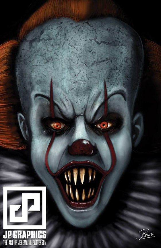 JPGraphicStudios Pennywise 2017 Print