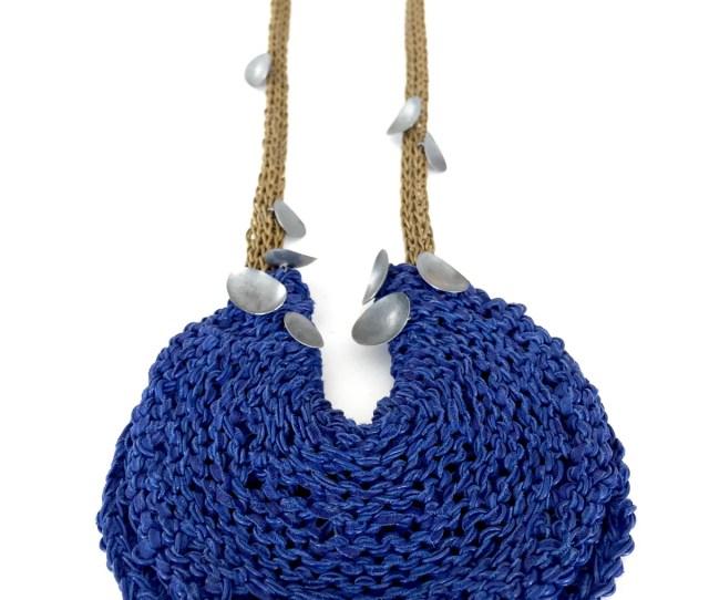 Image Of Brooke Marks Swanson Blue Disc Necklace 2018