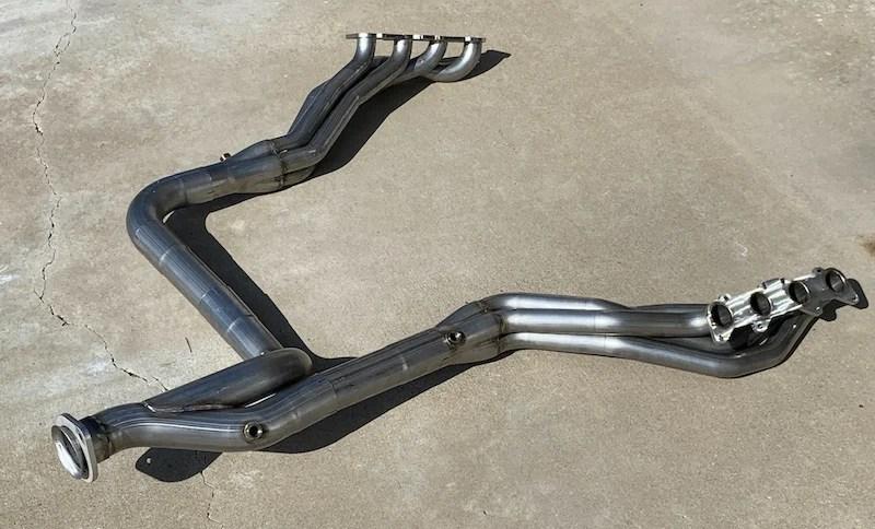 2015 2022 ford f150 5 0 long tube headers 1 7 8