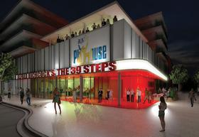 The Austin Playhouse's planned building.