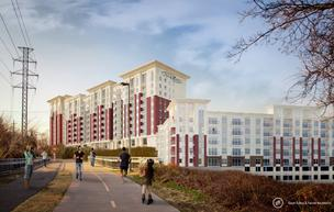 The Alexan, which is being developed by Dallas-based Trammell Crow Residential, is one of the apartment developments under construction in Dallas. The North Texas area will account for about 80 percent of all new apartment supply, according to Marcus & Millichap research.