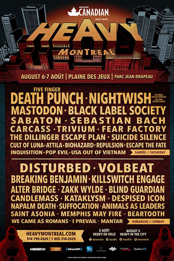 heavymontreal2016napalmdeathposter