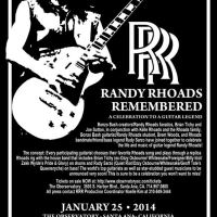 Doug Aldrich, Bumblefoot, Brad Gillis, Nuno Bettencourt, Uli Jon Roth and more announced for Rhoads Remembered – January 25, 2014 at The Observatory