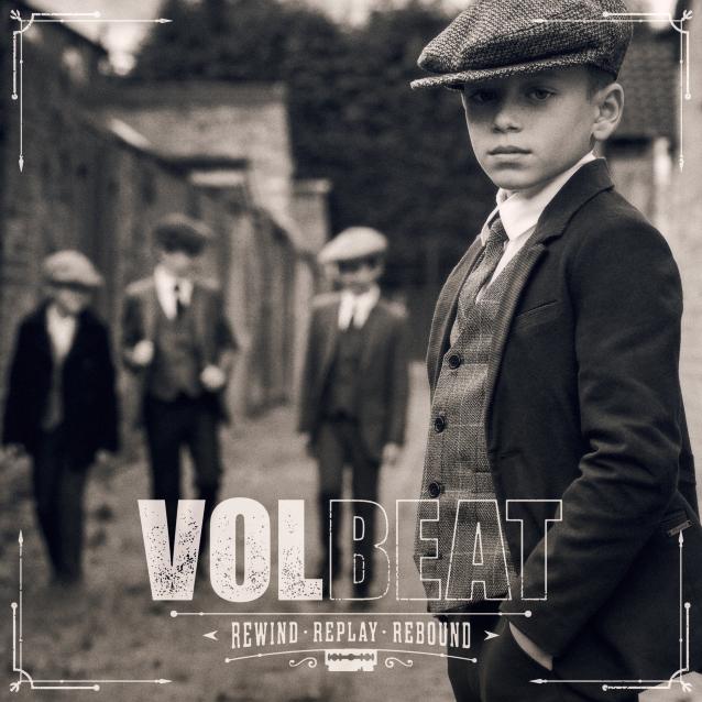 硬搖滾 狂音樂團 Volbeat 將於8月推出專輯《Rewind, Replay, Rebound》 2