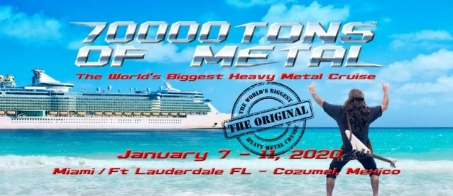 ATHEIST, CARACH ANGREN, CATTLE DECAPITATION And ORPHANED LAND Among Latest Additions To 70000 TONS OF METAL Cruise