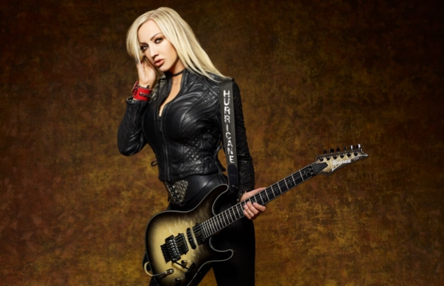 NITA STRAUSS: Listen To 'Pandemonium 2.0' Song From 'Controlled Chaos' Album