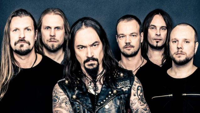AMORPHIS: 'Under The Red Cloud' First-Week Chart Positions Revealed