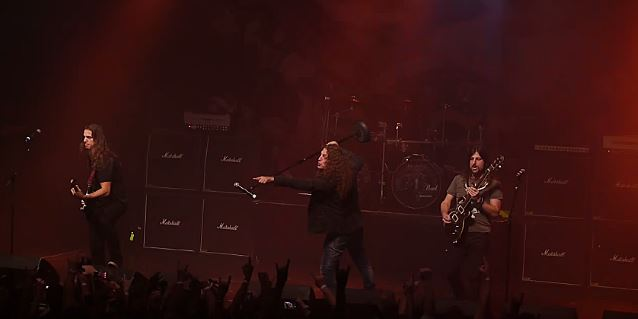 Video: ANGRA Performs At PROGPOWER USA Festival