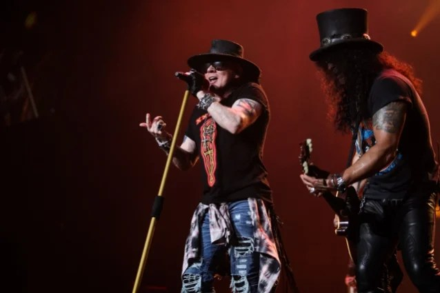 GUNS N' ROSES' 'Not In This Lifetime' Tour Has Grossed More Than $580 Million