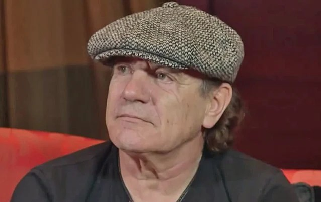 AC/DC Forced To Postpone Ten Shows Or Risk 'Total Hearing Loss' For Singer BRIAN JOHNSON