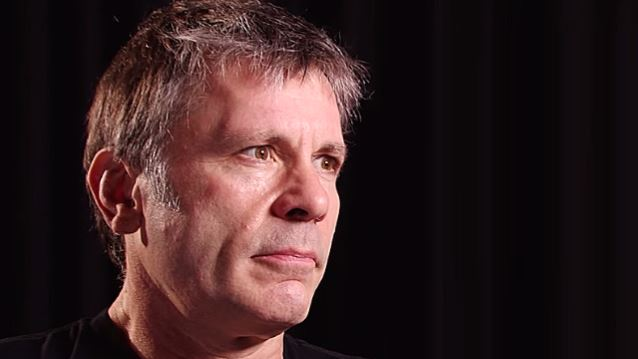 IRON MAIDEN's BRUCE DICKINSON Says Common Sexually Transmitted Virus Caused His Tongue Cancer