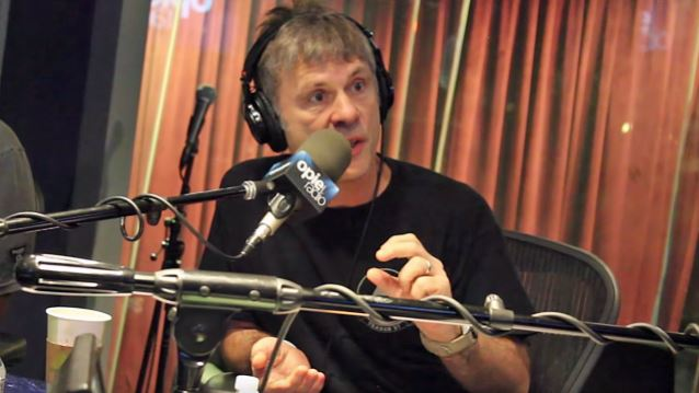 IRON MAIDEN's BRUCE DICKINSON Explains Link Between HPV And His Tongue Cancer