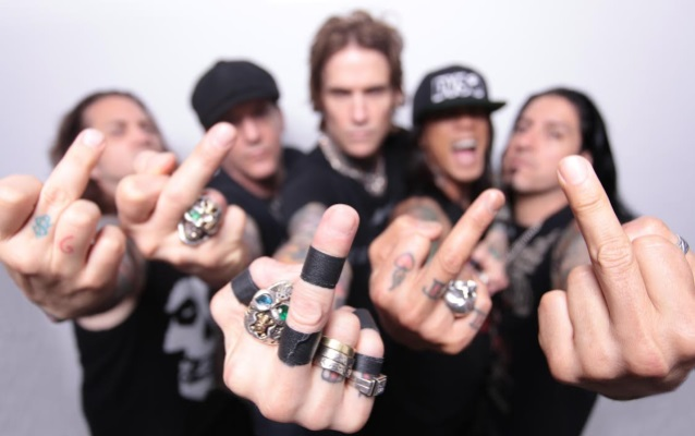 BUCKCHERRY Launches Adult Product Line 'Crazy Bitch Toys'