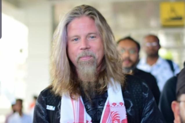 CHRIS ADLER, ex baterista de DIOS DE DIOS, es