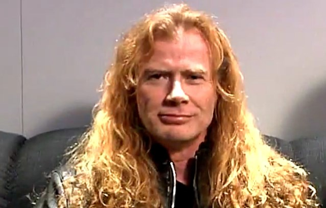 MEGADETH's DAVE MUSTAINE Is This Year's 'Golden God'