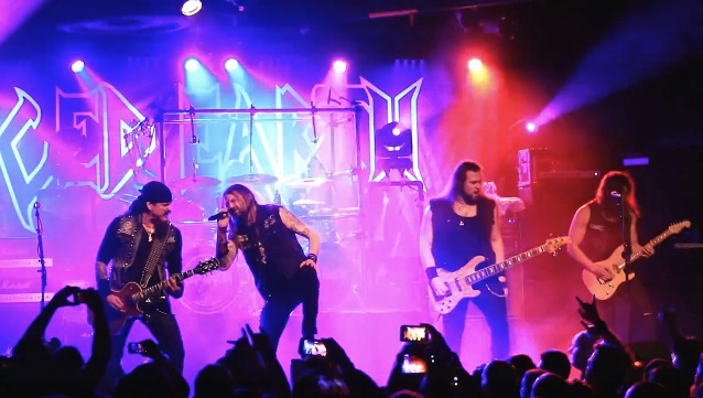 ICED EARTH Performs In Sacramento During 'Incorruptible' Tour (Video)