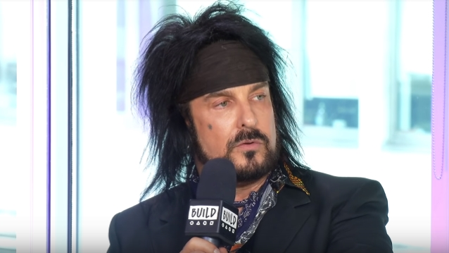 NIKKI SIXX Hopes His 'Heroin Diaries' Musical Will Do For Opiate Epidemic What 'Rent' Did For AIDS And HIV