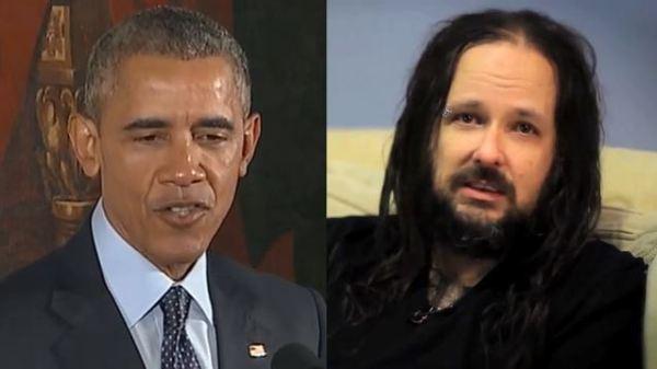 President Obama: 'I Am Not The Lead Singer From Korn ...