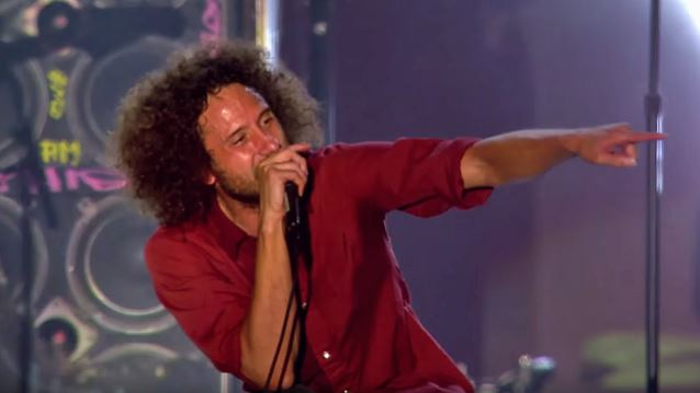 RAGE AGAINST THE MACHINE: 'Bulls On Parade' Performance Clip From 'Live At Finsbury Park' DVD