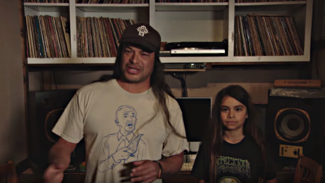 METALLICA Bassist's 12-Year-Old Son To Fill In For FIELDY In KORN