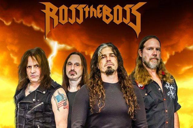 ROSS THE BOSS Feat. Ex-MANOWAR Guitarist: New Lineup Announced