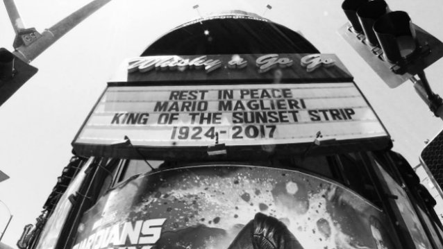 'King Of The Sunset Strip' MARIO MAGLIERI Dead At 93